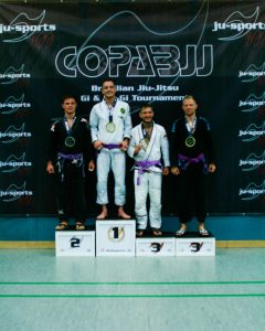 Marius Socher Gold bei Copa BJJ