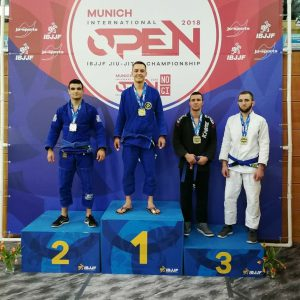 Gold bei IBJJF Munich Open