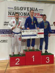 Gold bei BJJ Slovenia National Pro